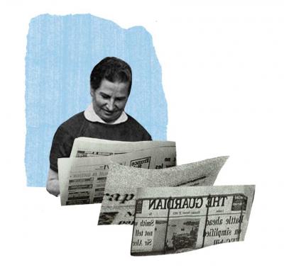 Snuisteren in oude kranten