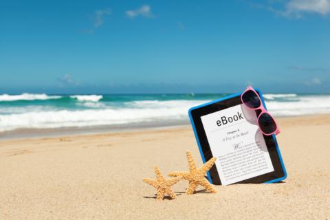 E-boeken_strand